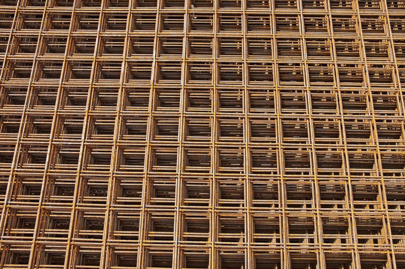 Rete Elettrosaldata Zincata 10x10.Resistenza Ferro Struttura Edificio Ripanti